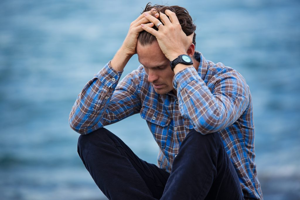 Male pattern baldness can often be a source of stress for the patient.